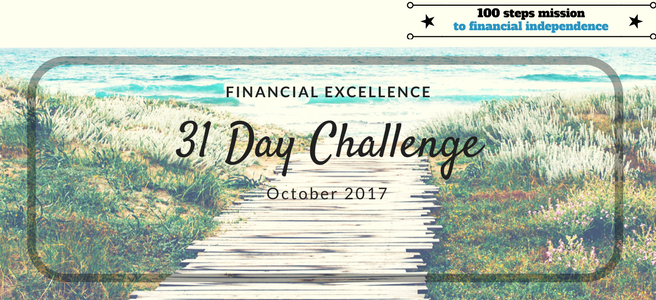 31 Day Challenge To Financial Excellence