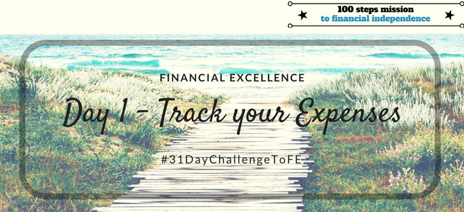 Day 1 - Track your Expenses
