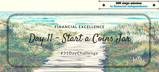 Day 11: Start a Coins Jar