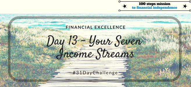 Day 13: Your 7 Income Streams