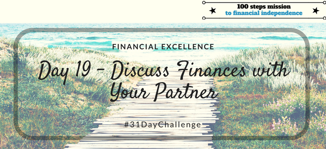 Day 19: Discuss Finances with your Partner