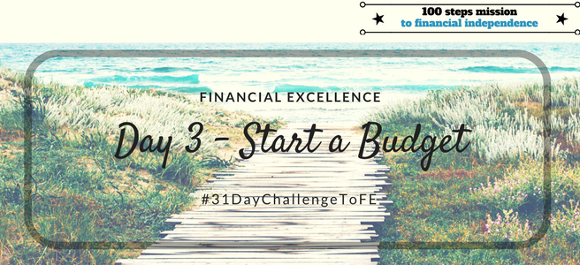 Day 3: Start a Budget