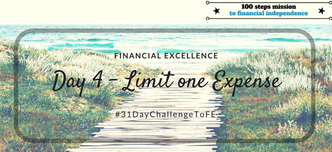 Day 4: Limit one Expense