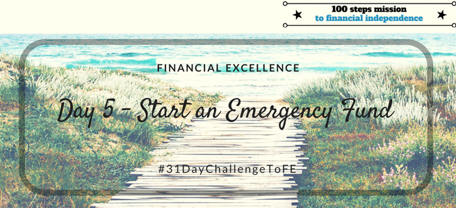 Day 5: Start an Emergency Fund