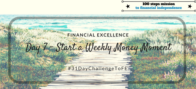 Day 7: Start a Weekly Money Moment