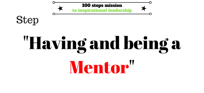 Having a mentor (1)
