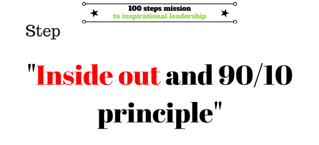Inside Out- the 9010 principle