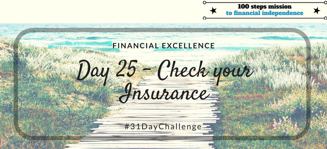 Day 25: Check your Insurance
