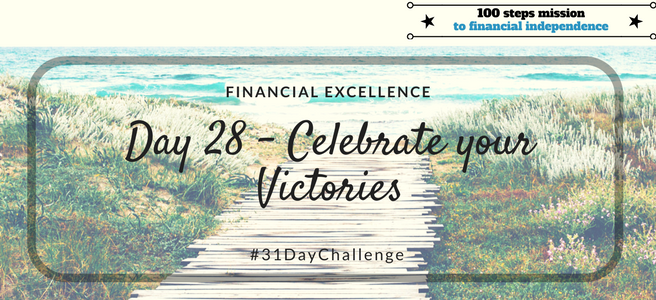 Day 28: Celebrate your Victories