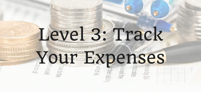 Level 3: Track Your Expenses