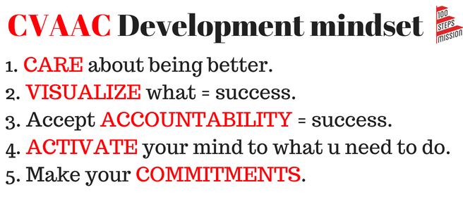 CVAAC development mindset