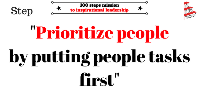 Putting people first (1)